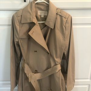 MICHAEL by Michael Kors size L Trench Coat